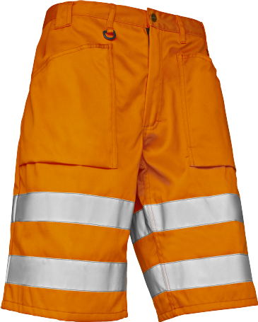 Blaklader 1537 High Vis Shorts (Orange)